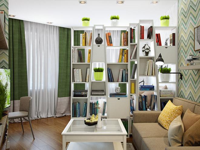 Как и чем зонировать комнату