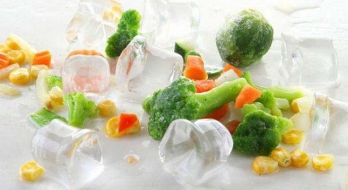 Правила хранения замороженных продуктов