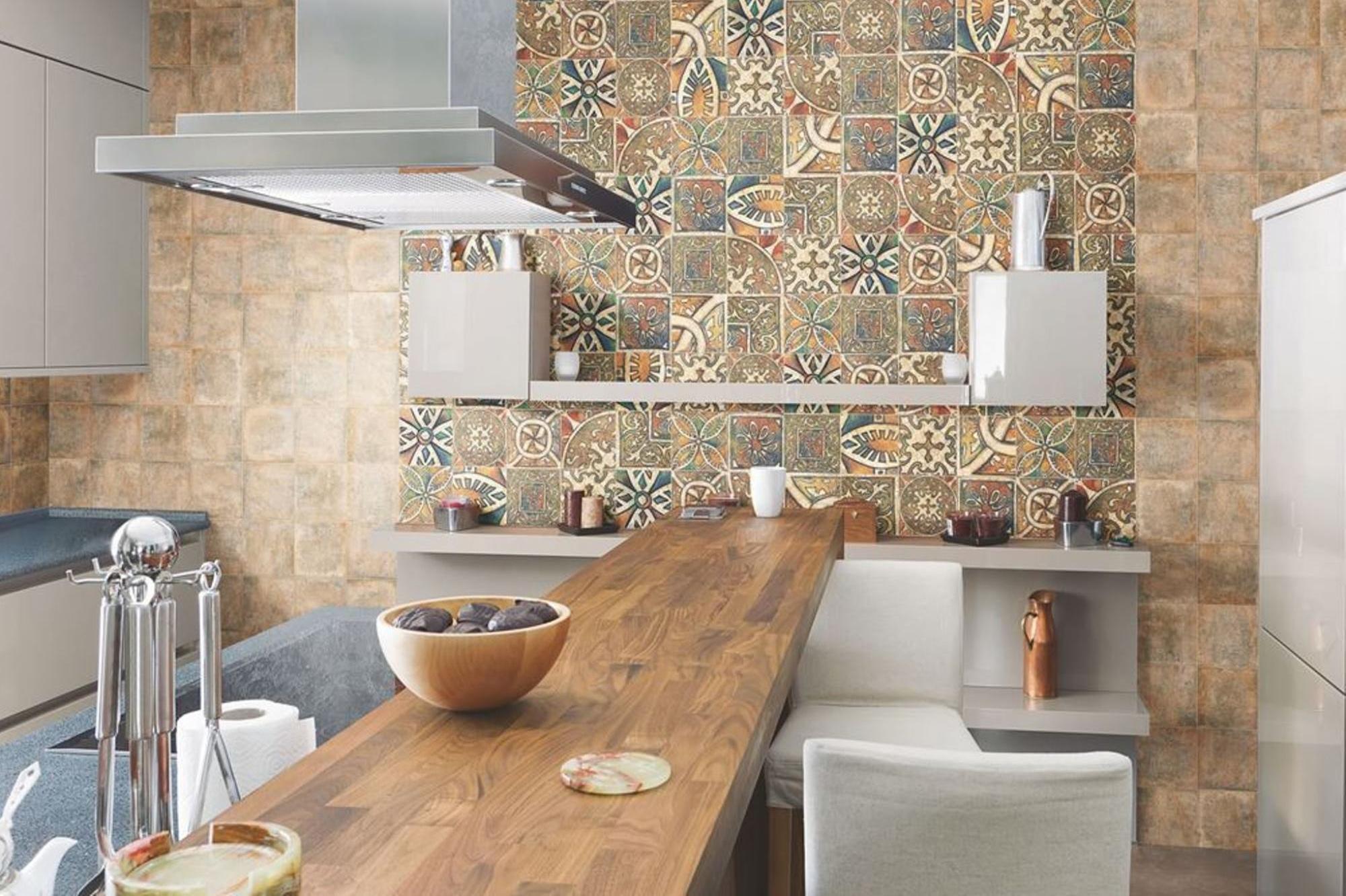 керамическая плитка для декора кухни