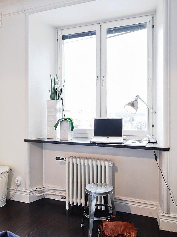 декор подоконника - стол