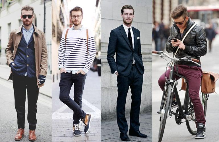 как комбинировать одежду мужчине